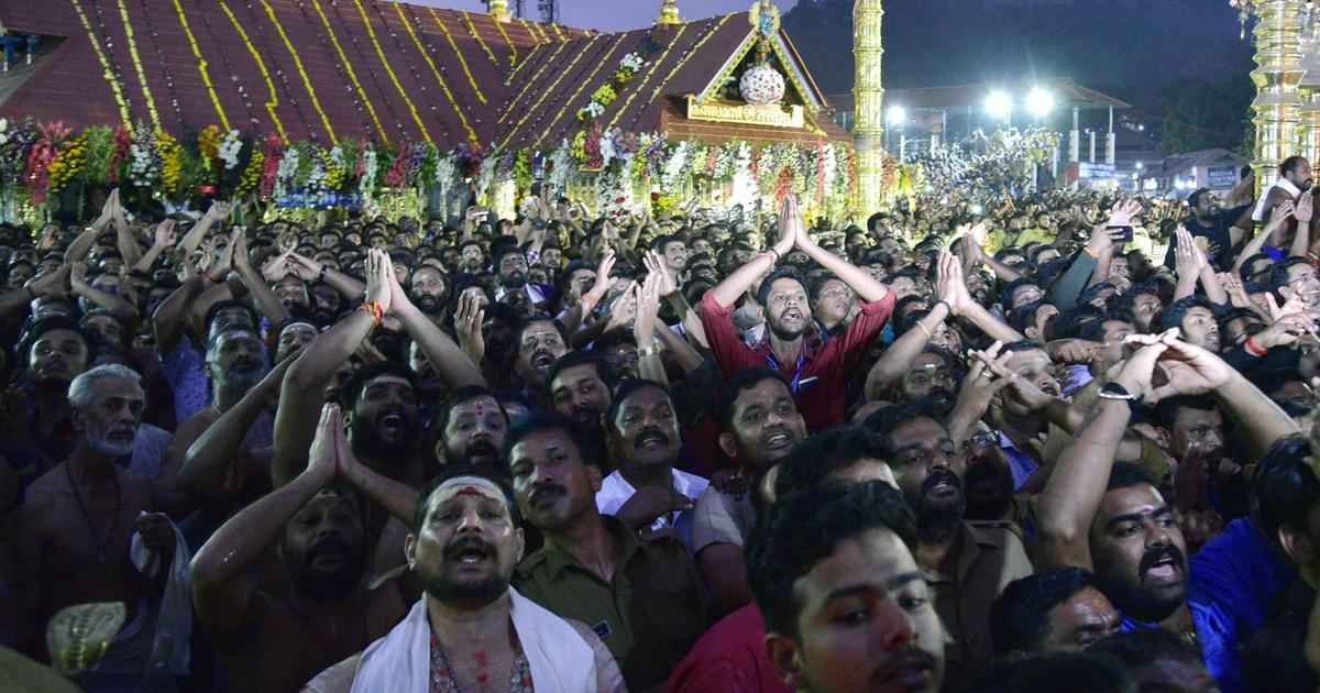 Sabarimala temple opens for second day amid tight security