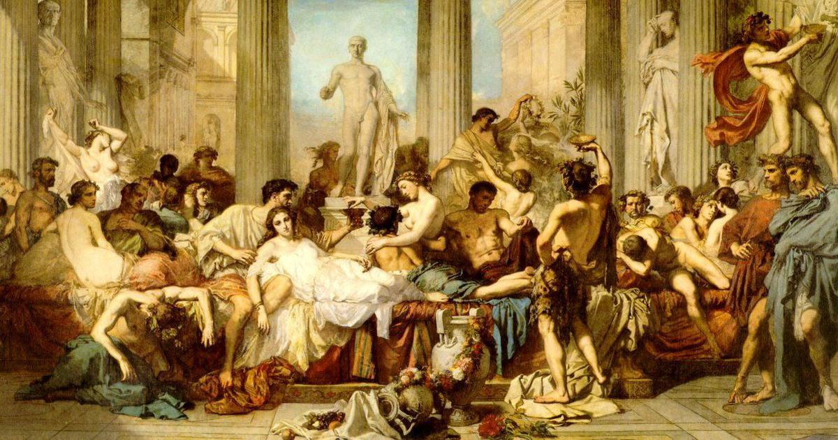 A hodgepodge of scumbags, orgies, and the breakdown of society: Also known as Juvenal's 'Satires'