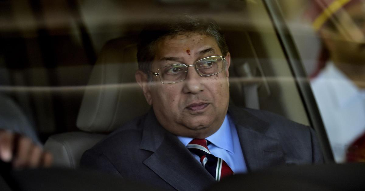 MS Dhoni and CSK dealt with problems with coldblooded focus and won: N Srinivasan