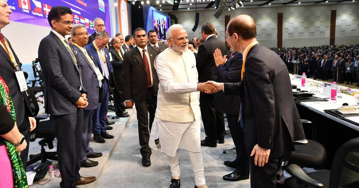 Vibrant Gujarat summit: Modi says India is aiming to be in the top 50 of ease of doing business list