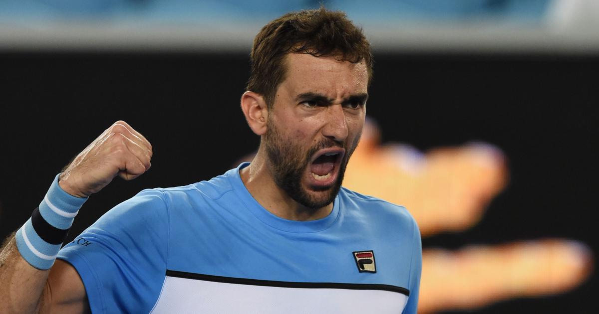 Australian Open Highlights: Marin Cilic wins five-set thriller, seagulls delay Konta-Muguruza match