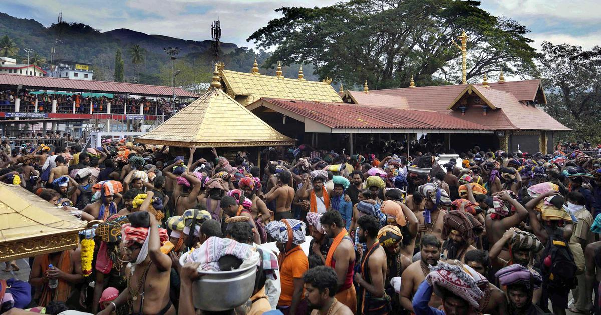 Kerala: Sabarimala temple opens today, state government asks women to get SC order to enter shrine