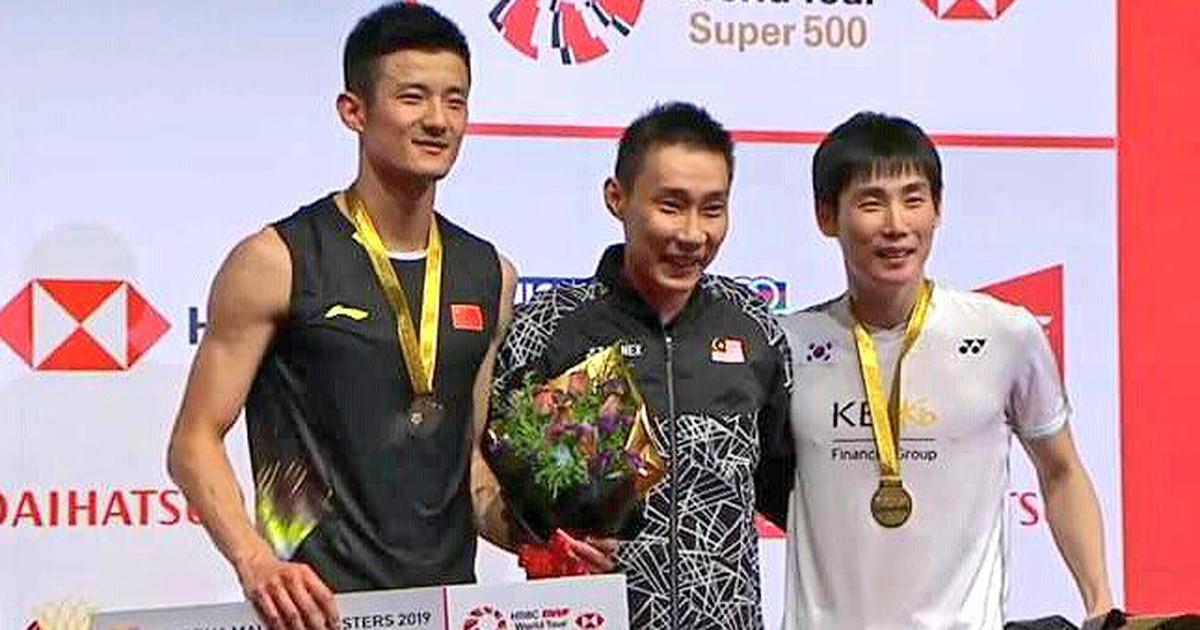 Watch: On the comeback trail from cancer, Lee Chong Wei gets rousing reception at Malaysia Masters