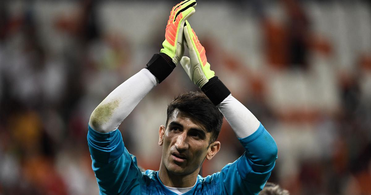 Asian Cup: Iran keeper Alireza Beiranvand thanks Ronaldo penalty save at World Cup for inspiration