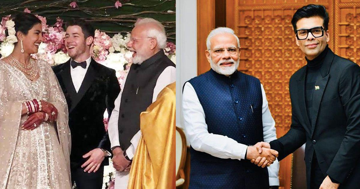 Seven weeks in Bollywood: Narendra Modi meets Karan (without koffee) and hangs with the stars