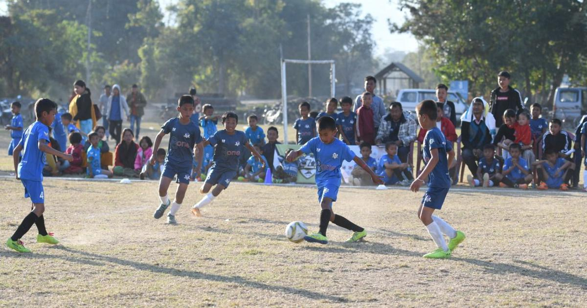 Football: Manipur's first-ever Baby League launched in Bishnupur district