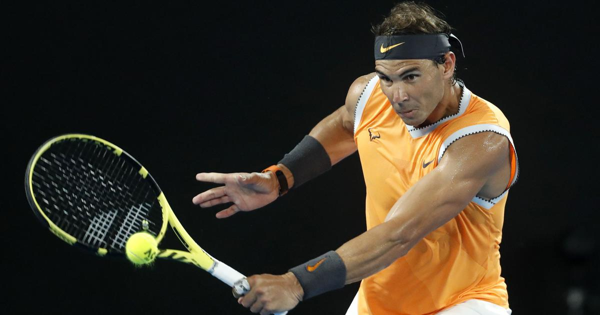 Aus Open: Ruthless Rafael Nadal ends Frances Tiafoe's run to set up semi-final with Tsitsipas