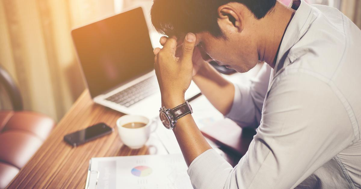 Chronic stress changes your brain chemically – and can trigger depression
