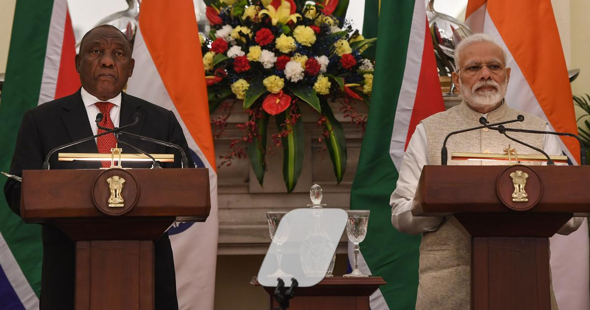 Republic Day chief guest Cyril Ramaphosa has failed to uphold civil rights – just like his host Modi