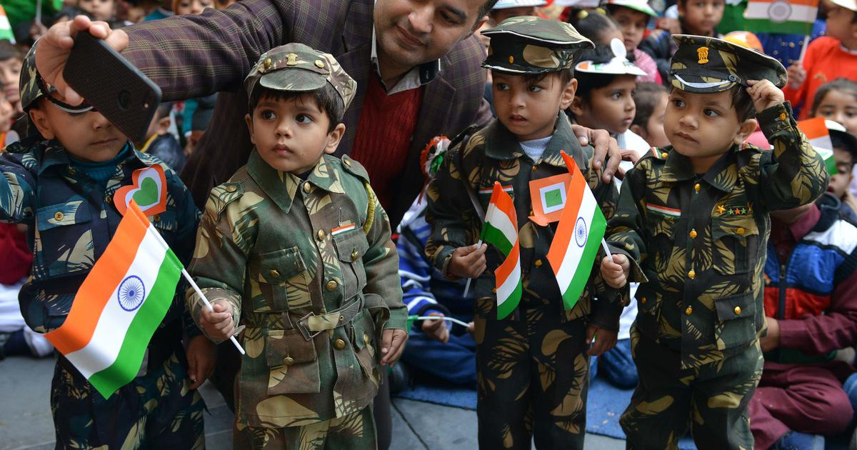 70th Republic Day: Modi becomes an instant gallery favourite