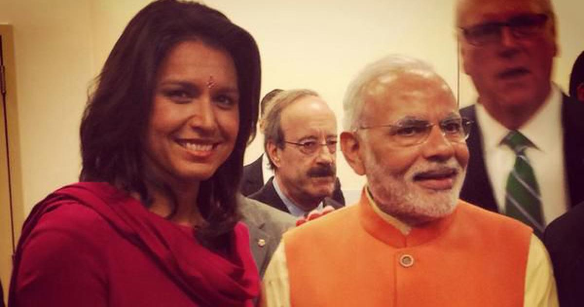 'I have been accused of being a Hindu nationalist,' says US presidential aspirant Tulsi Gabbard