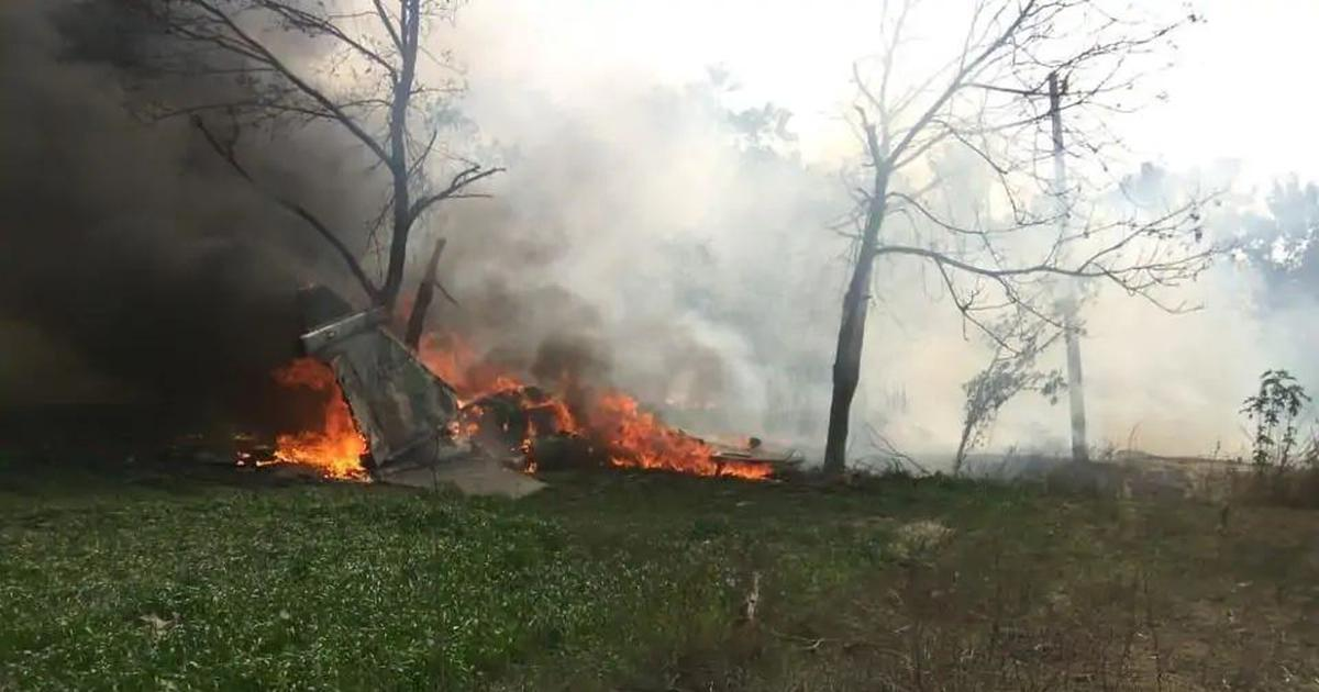 UP: Air force plane crashes in Kushinagar district, no injuries reported