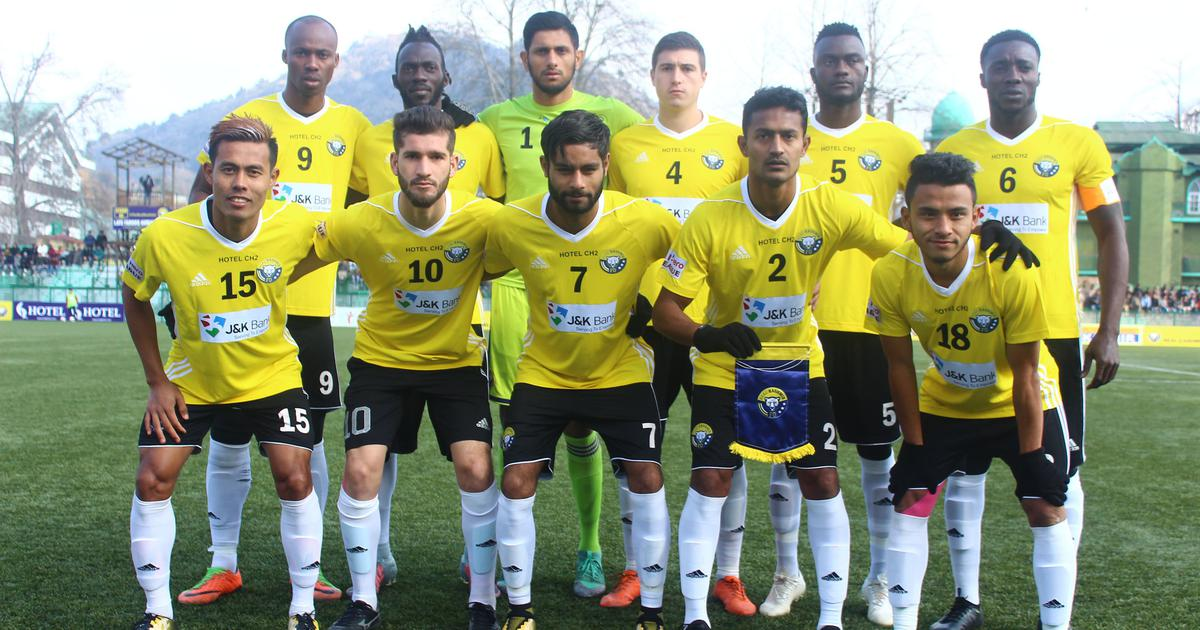 I-League: Title race in the balance after Real Kashmir draw with Indian Arrows