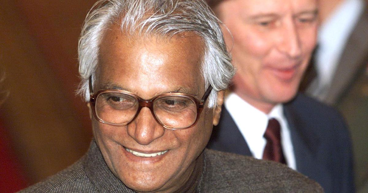 'Fiery trade union leader, tireless crusader': Tributes pour in for George Fernandes