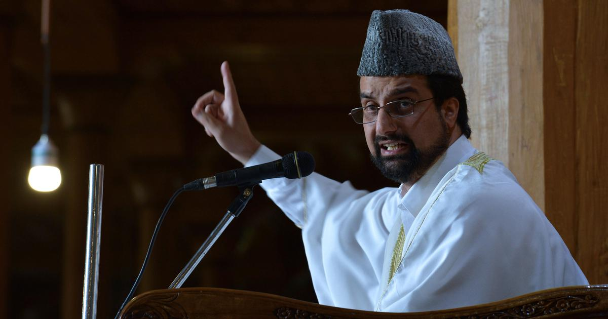 Mirwaiz interview: 'I don't see why India should be irked if I talk with Pakistan foreign minister'