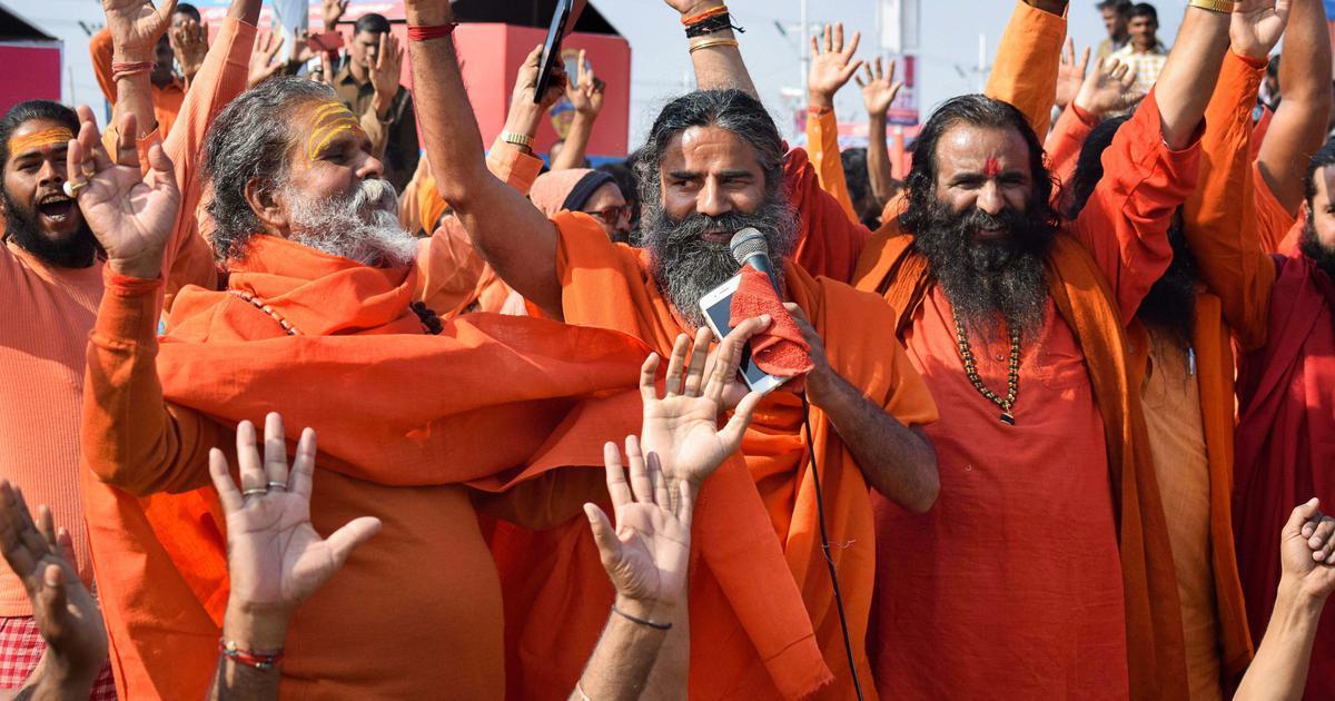 Watch: Ramdev asks saints at Kumbh to give up tobacco, cites Ram, Krishna as examples