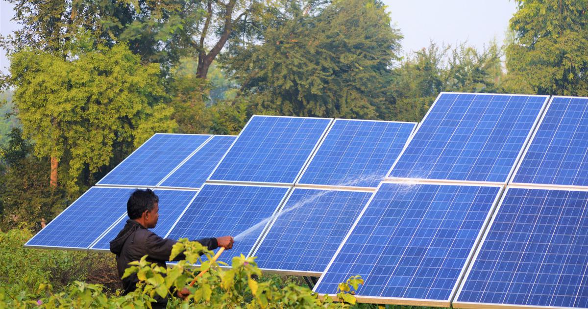 Making money while the sun shines: Farmers in a Gujarat village are selling solar energy