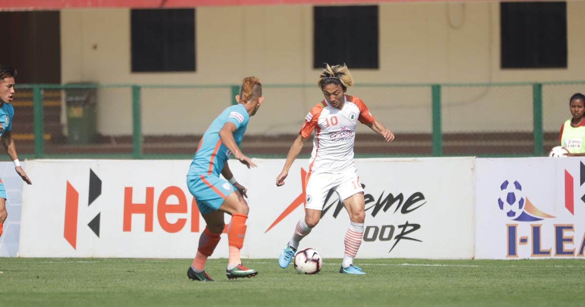 I-League: Katsumi Yusa's double strike helps Neroca FC beat Indian Arrows in five-goal thriller