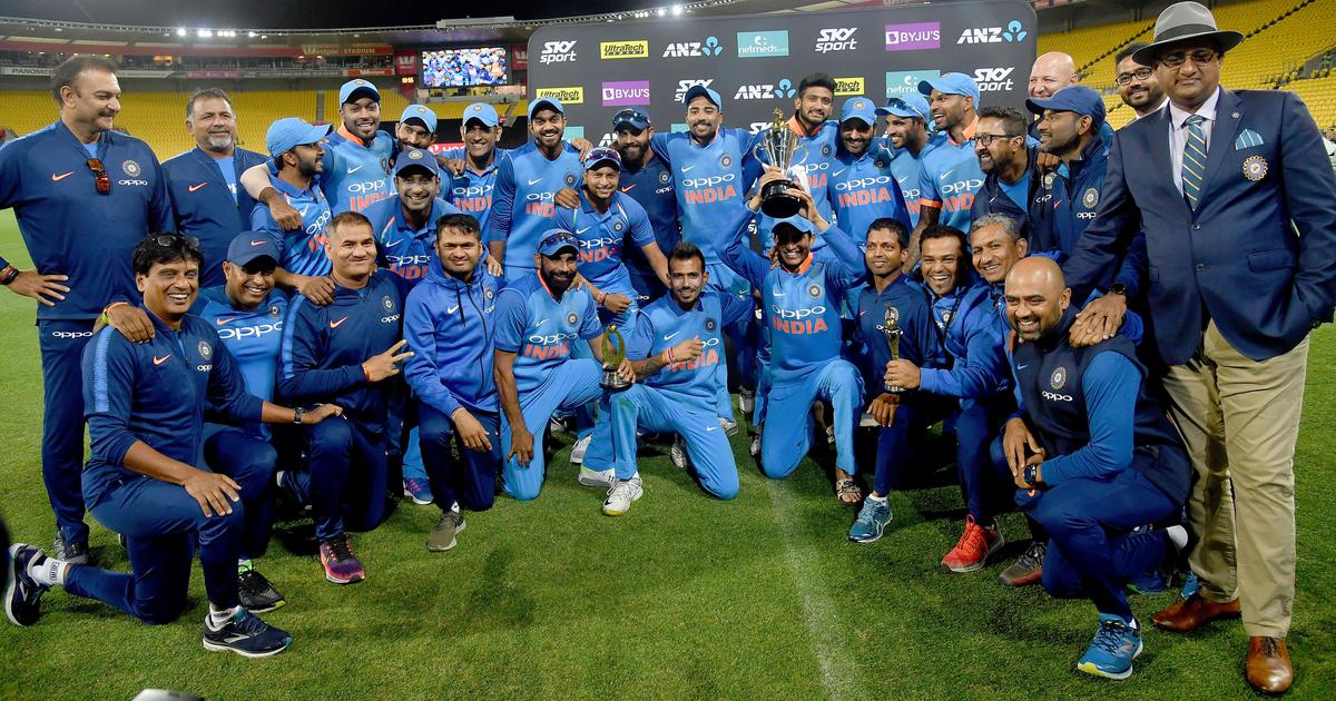 Pandya's hat-trick of sixes, middle order recovery and other stats as India triumph 4-1 against NZ