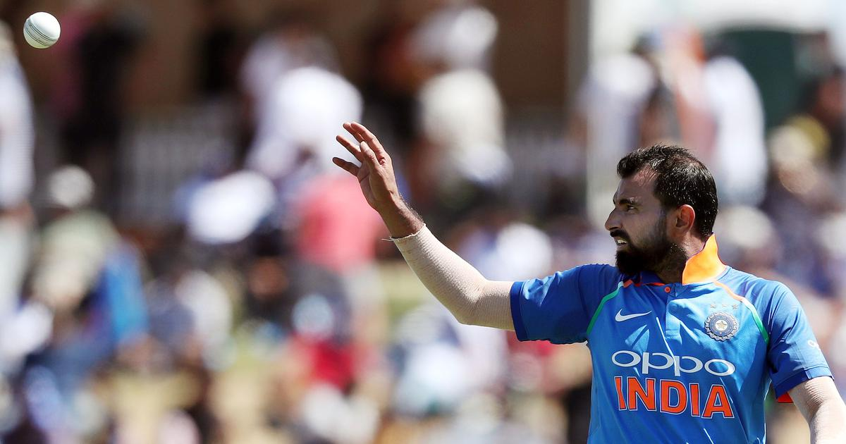 Chargesheet filed against Mohammed Shami for dowry, sexual harassment