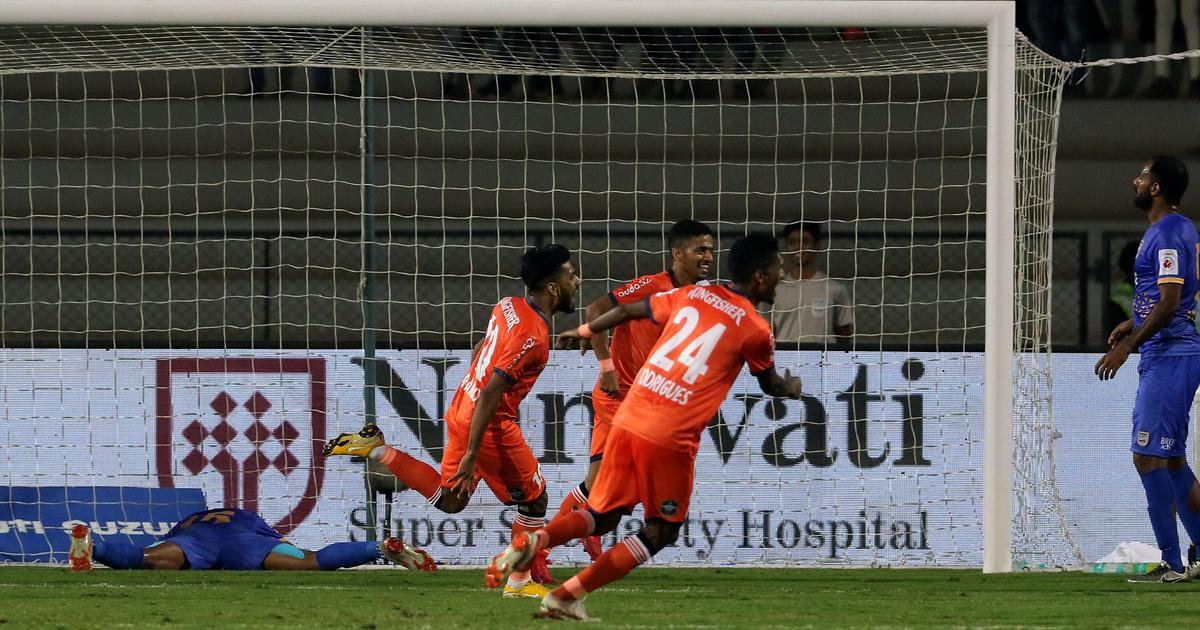 Indian Super League: Goa silence Mumbai, NorthEast United lose despite playing well