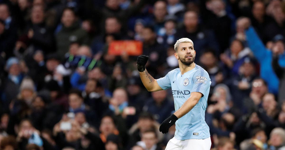 Premier League: Sergio Aguero remains Man City's go to man in club's domination under Guardiola