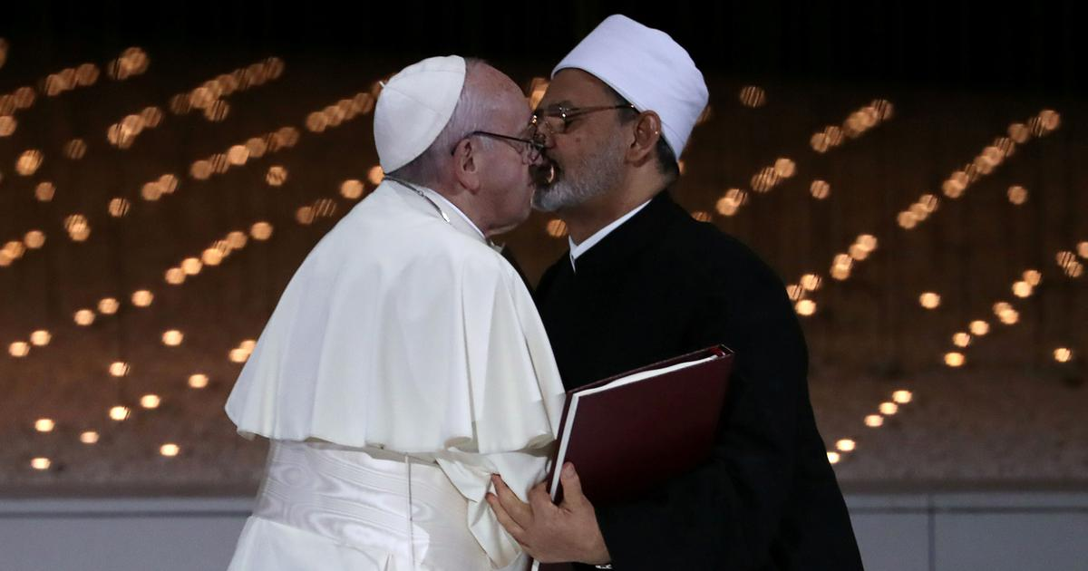 Abu Dhabi: Pope, top Muslim cleric call for freedom of belief, culture of tolerance