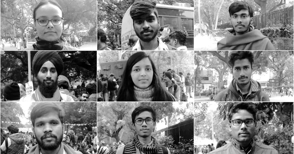 Meet India's future: Hundreds of students, youths march in Delhi for public education and jobs