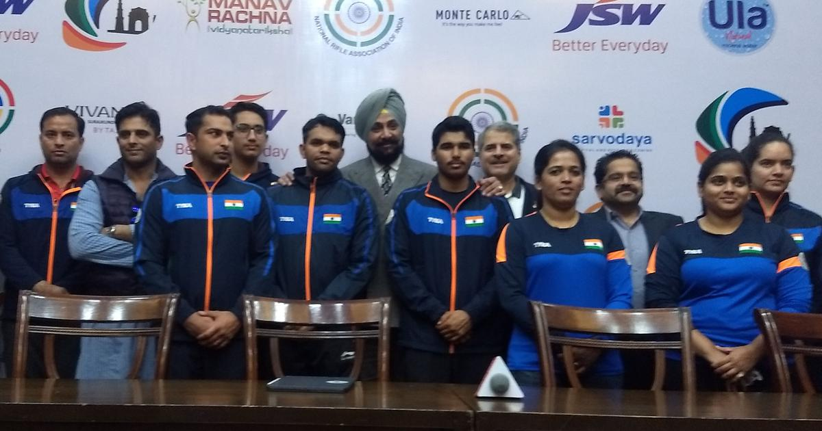 Olympic hopes: Meet India's squad for the first shooting World Cup of 2019 in Delhi