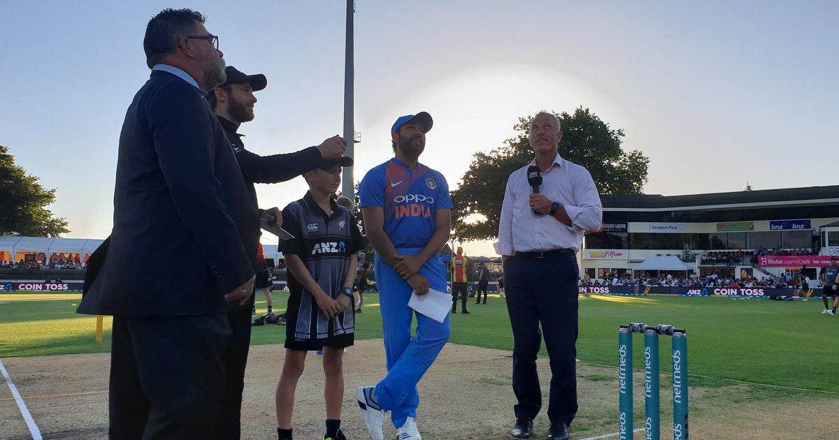 Toss report: India opt to bowl in T20I decider against New Zealand, Kuldeep replaces Chahal