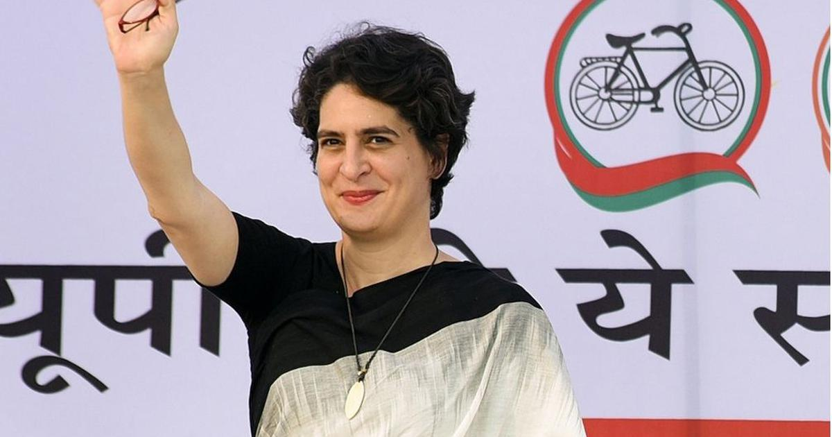 Priyanka Gandhi meets husband Robert Vadra before his interrogation by ED in Jaipur in land scam