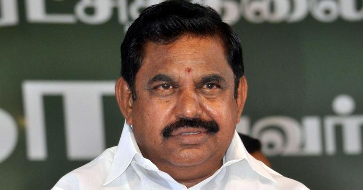 Tamil Nadu: Vellore to be split into two districts and a taluka, says CM Edappadi Palaniswami