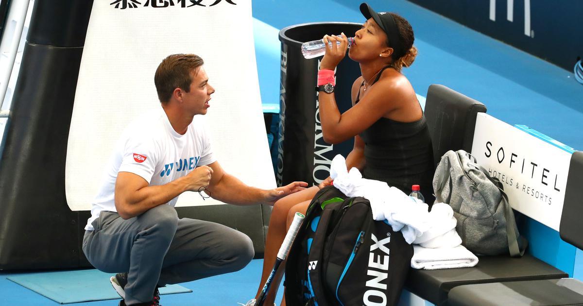 Noami Osaka splits with coach Sascha Bajin weeks after winning Australian Open win