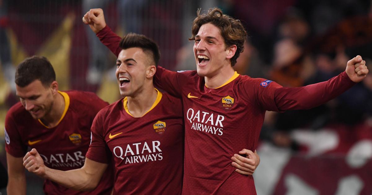 Champions League: Teenager Nicolo Zaniolo's brace helps Roma beat Porto 2-1 in first leg