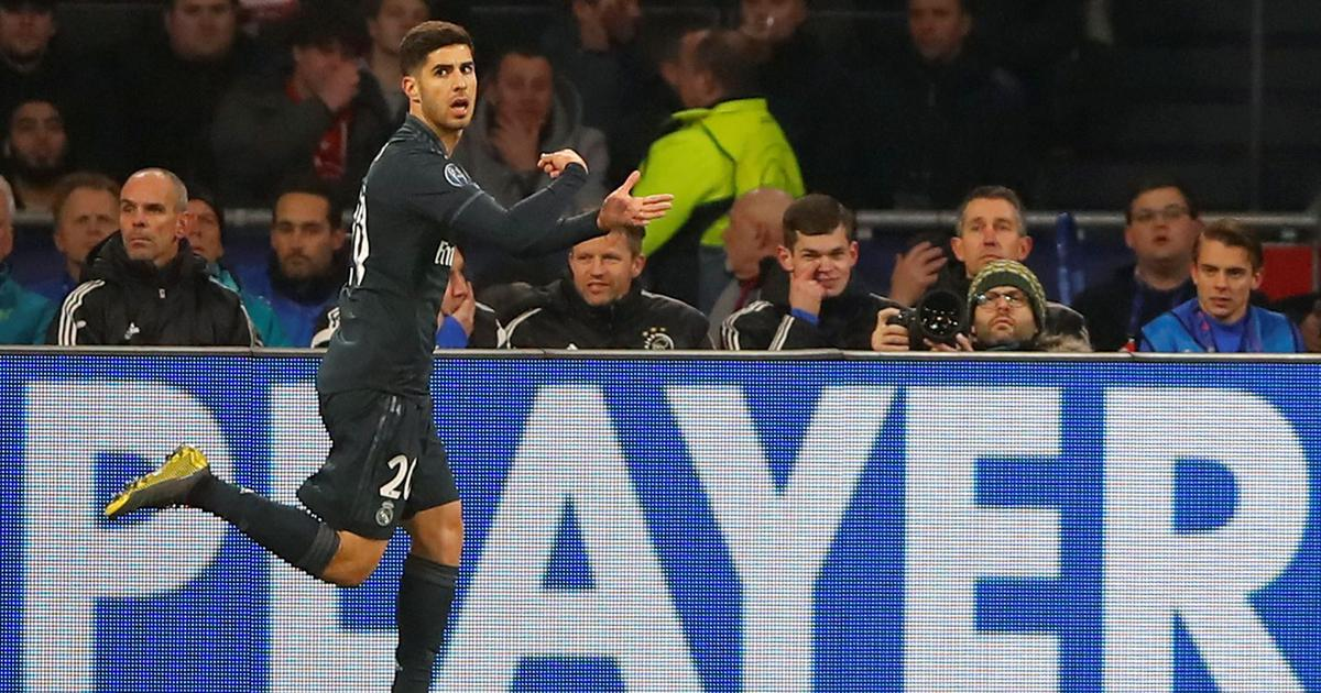 bd74f21c1c8 Asensio and VAR come to rescue as Real Madrid beat Ajax 2-1 in Champions  League