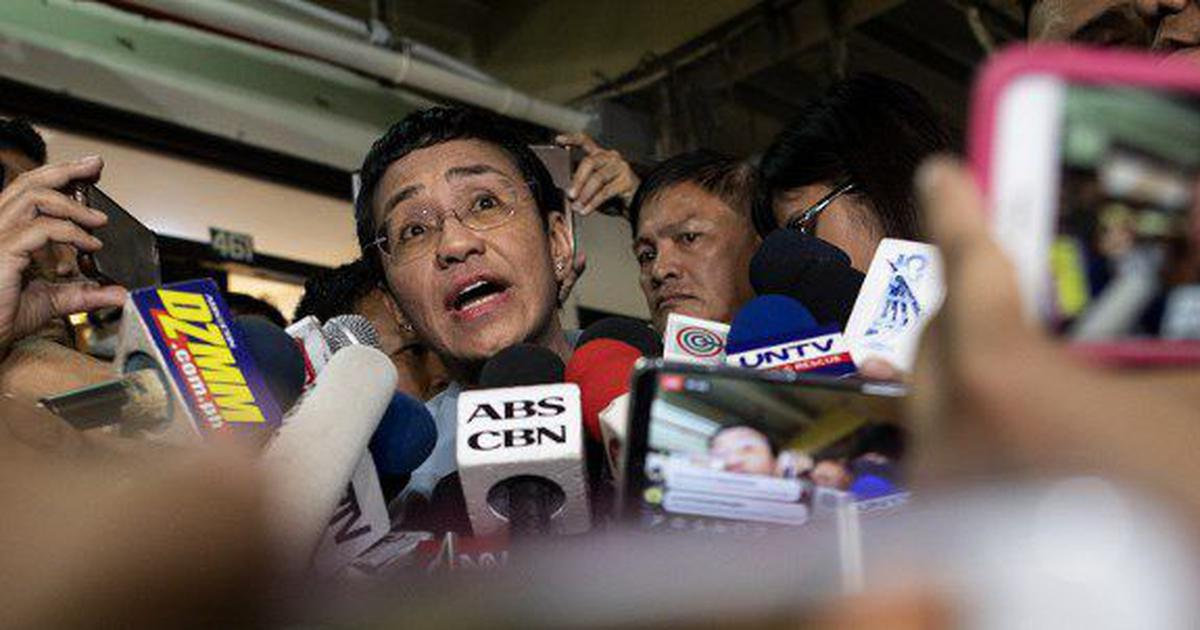 Philippine journalist Maria Ressa gets bail after arrest sparks international outcry