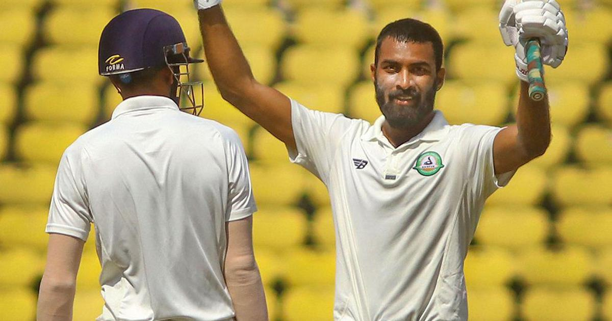 Irani Cup: Rest of India fight back after Akshay Karnewar scores unbeaten hundred for Vidarbha