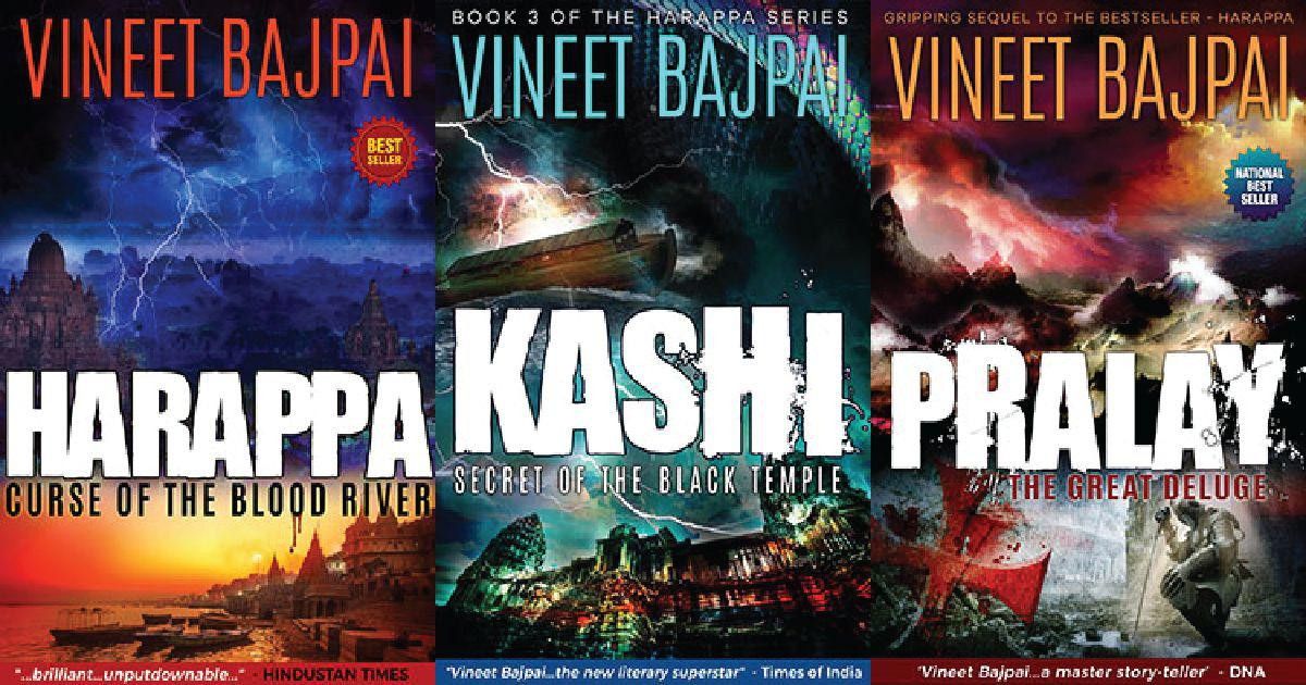 Reliance Entertainment plans screen adaptation of Vineet Bajpai's 'Harappa' trilogy