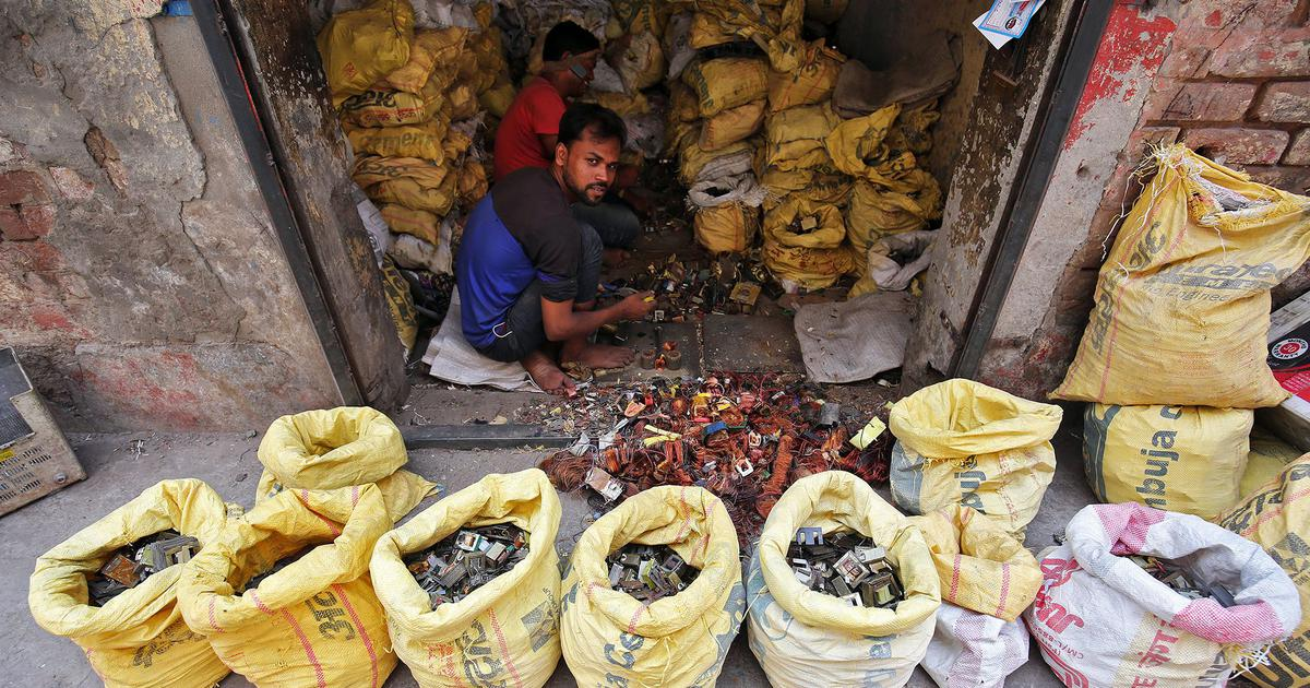 In India, e-waste recycling comes at a heavy cost to workers' health and environment
