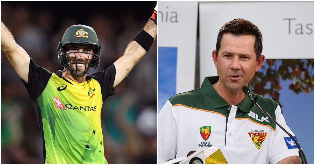 He makes you feel like you can walk on water: Glenn Maxwell talks about the Ricky Ponting influence