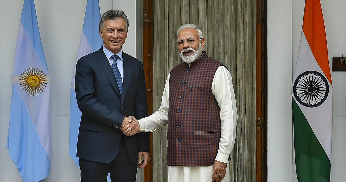 Narendra Modi and Argentina President Mauricio Macri hold bilateral talks, condemn terrorism