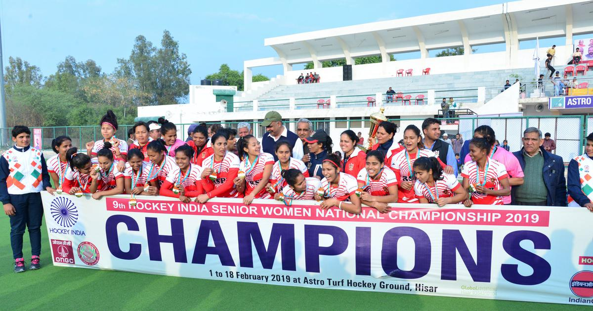 Hockey nationals: Railway Sports Promotion Board win sixth straight women's title