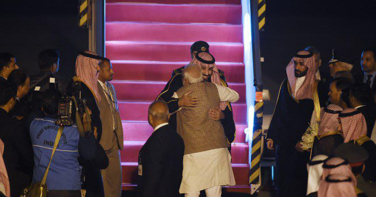 Saudi crown prince begins India visit, PM Narendra Modi welcomes him at Delhi airport