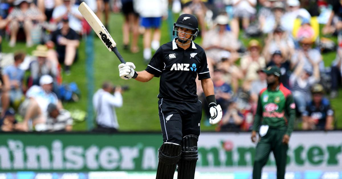 Ross Taylor goes past Stephen Fleming to become New Zealand's highest run-scorer in ODIs