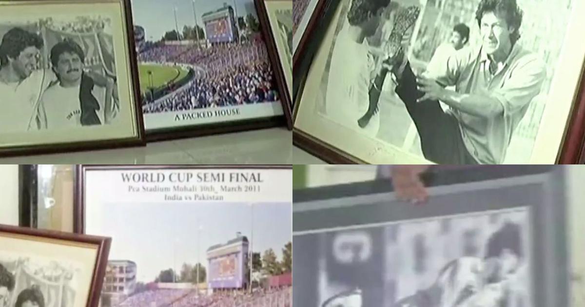 Pulwama attack: Photos of Imran Khan, Pakistan cricketers taken down at Chinnaswamy Stadium