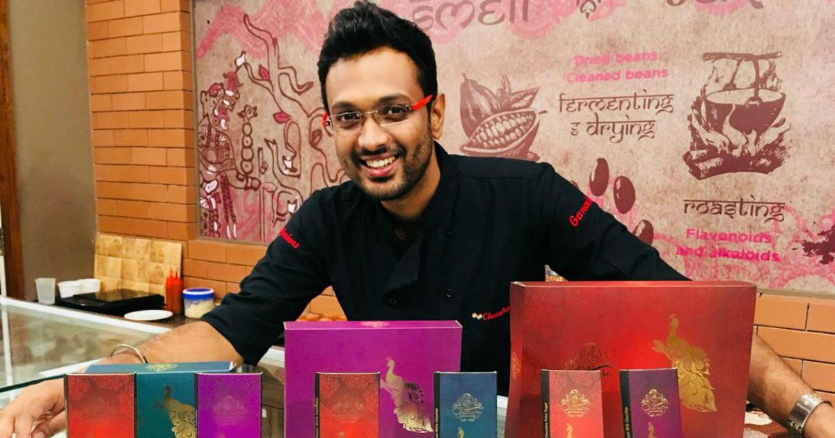 Lassi, moringa, pepper: A Coimbatore man is winning awards by infusing Indian flavours in chocolates