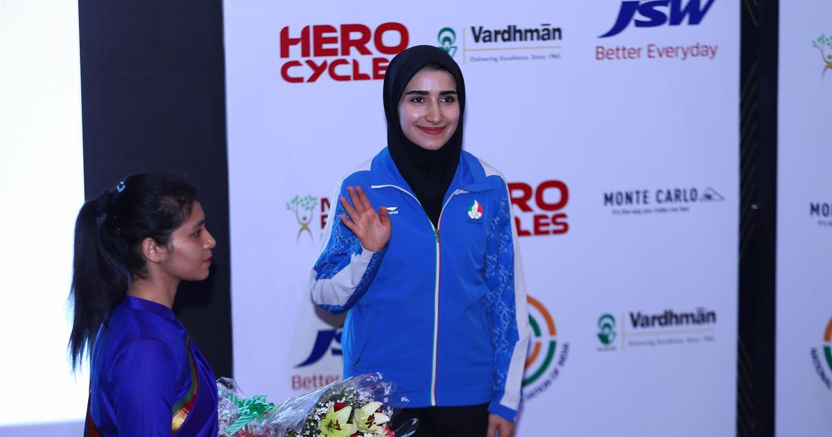 Overcoming ammunition sanctions, Iran's Haniyeh Rostasmiyan wins historic World Cup medal
