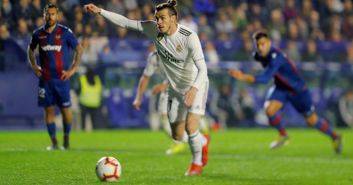 La Liga: Bale scores winner as Real Madrid scrape through to a controversial win against Levante