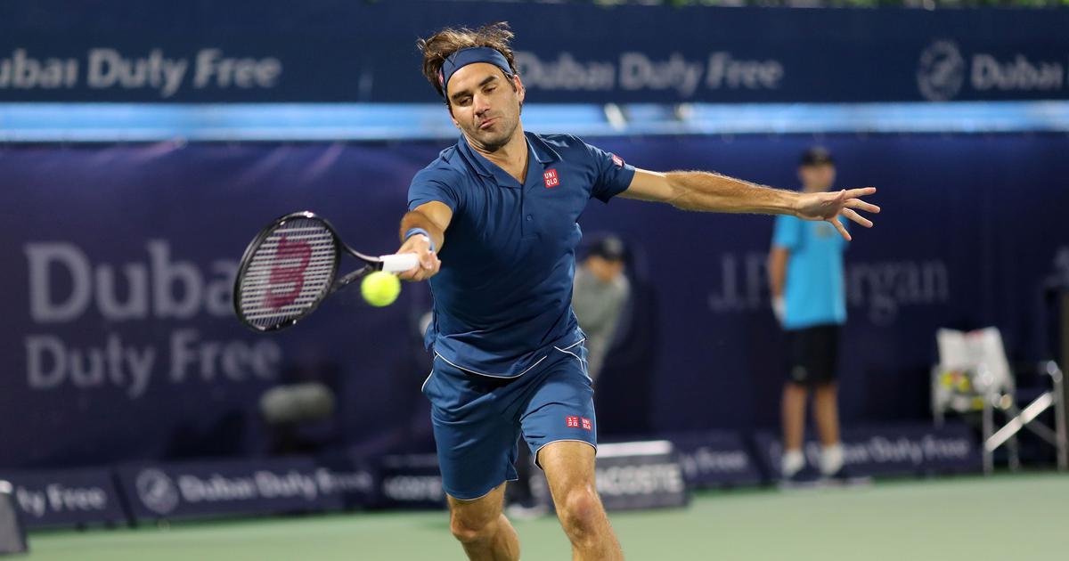 Dubai Championships: Federer earns a three-set opening round win against Kohlschreiber