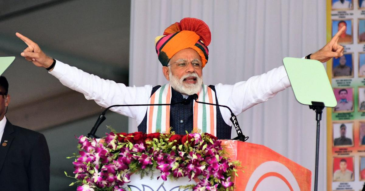 Elections 2019: Neither BJP nor Congress – not even jobs. It's all about Narendra Modi in Rajasthan